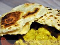 Naan au fromage [Un tour en cuisine]