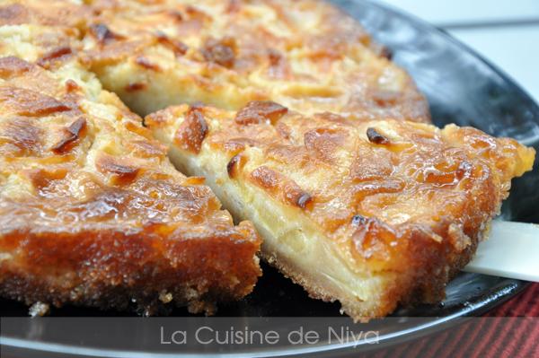 Gâteau caramélisé aux pommes