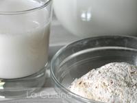 Lait végétal noix de cajou noisettes [vegan]