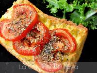 Tartine de pain perdu à la provençale