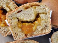 Muffins à la confiture de clémentine corse [vegan]
