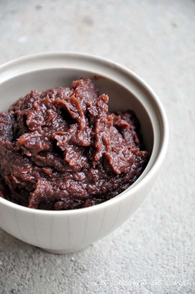 Pâte de haricots rouges azukis sucrée [vegan]