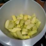 Pommes pour le cake