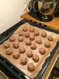 Boulettes de viande à la suédoise