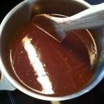 Recette américaine d'un délicieux gâteau chocolat-caramel