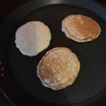 Pancakes américains à l'avoine sur La Cuisine De Steve