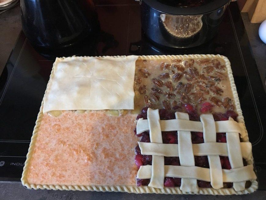 tarte 4-en-1 pour thanksgiving