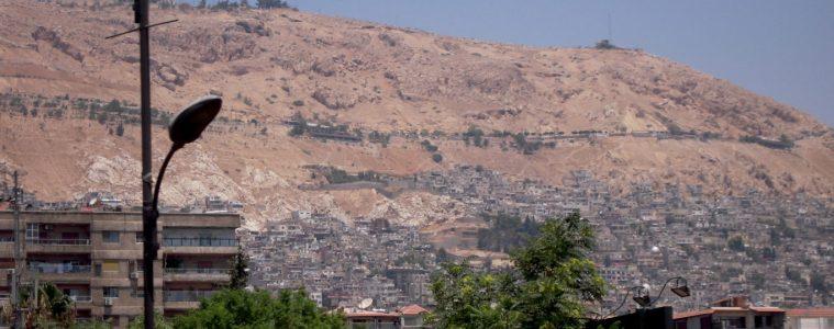 Mont Qasioun - Syrie 2010