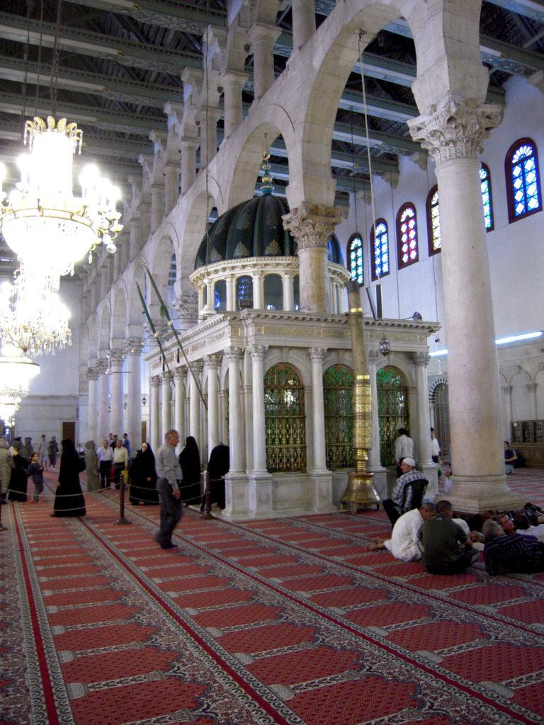 Mosquée inside - Syrie 2010