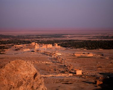 Palmyre by night - Syrie 2010
