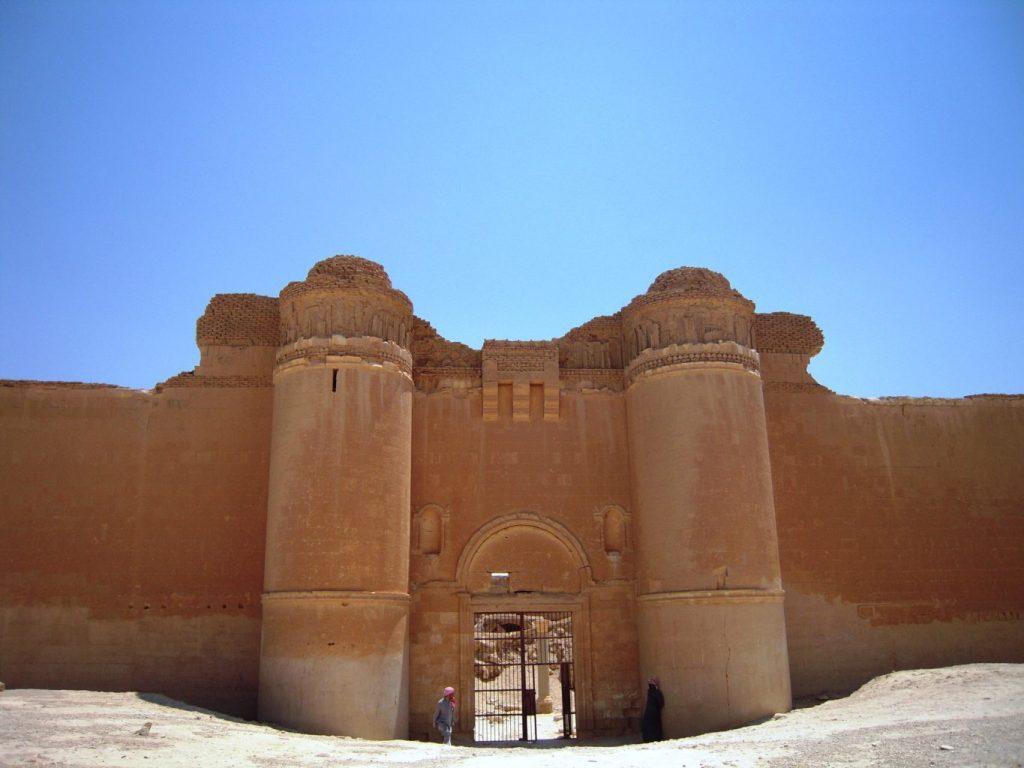 Qasr al-hayr al-sharqi - Syrie 2010