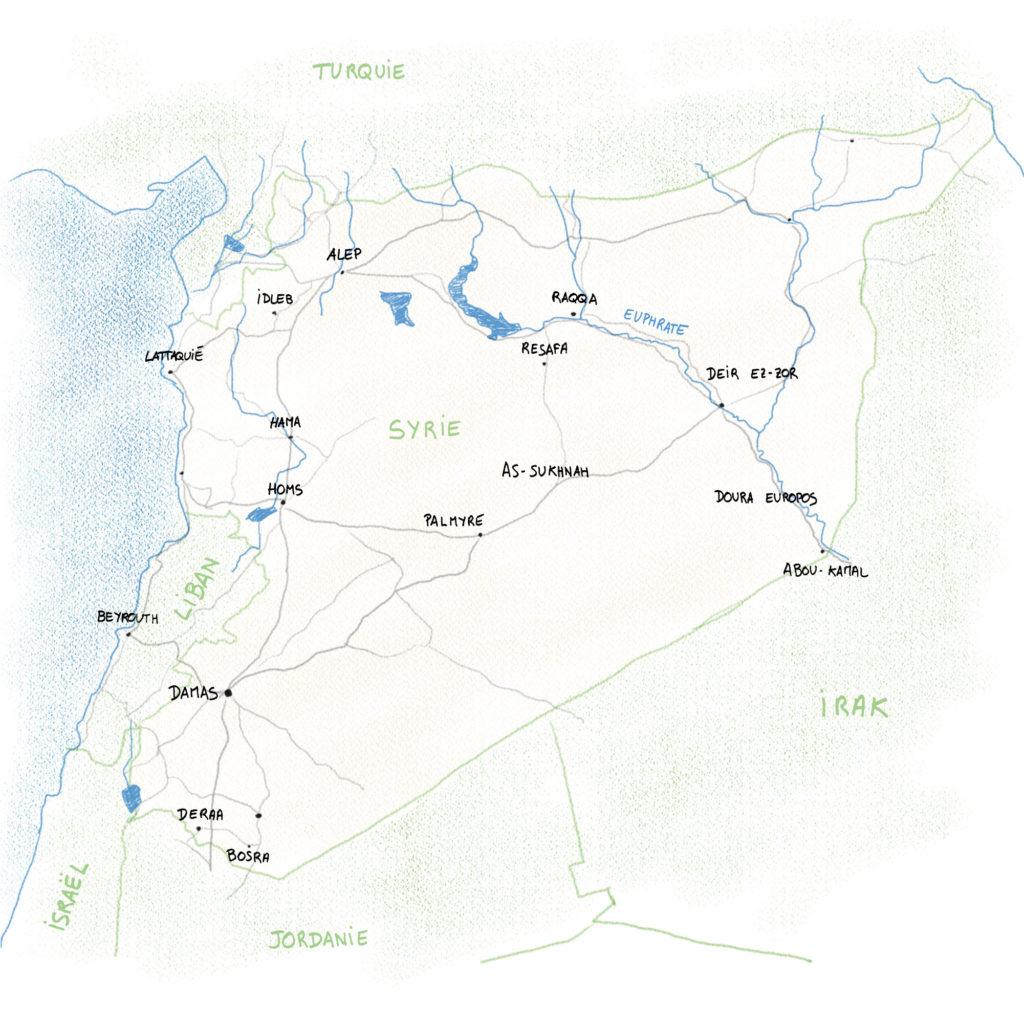 Syrie 2010 global
