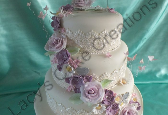 Wedding Cakes And Engagements Lacys Cake Creations