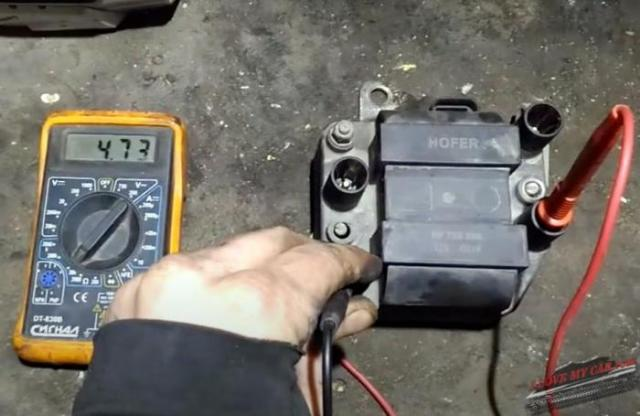 проверка модуля зажигания 2110