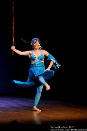 '...l'esprit de partage est indissociable de la danse orientale...'