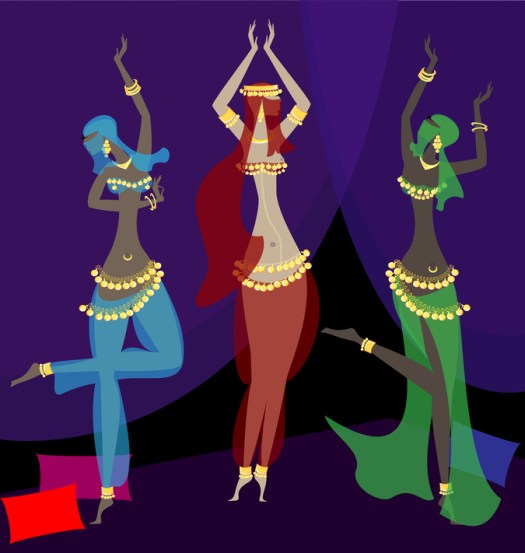 """""""La danse orientale est appropriée pour se maintenir en forme, se faire plaisir et prendre soin de sa Féminité."""""""