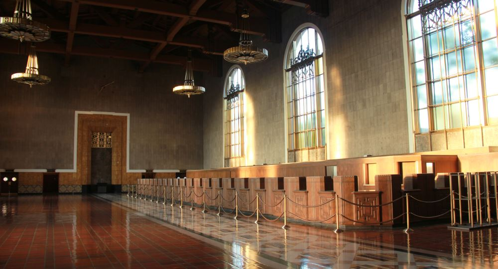 Union Station Ticket Booths