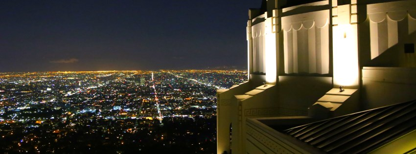 Griffith Park Observatory view