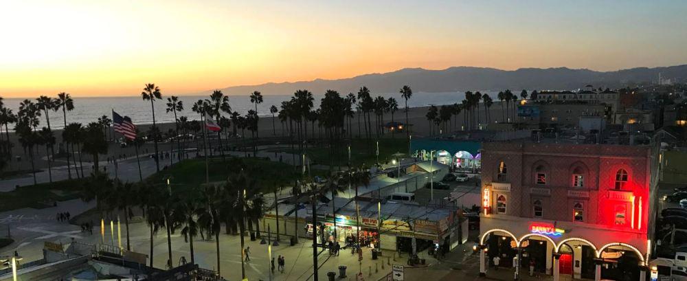Sunset at Hotel Erwin