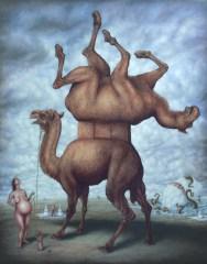 Le sens du poil - Oil on canvas - 146 x 114 cm - 2012