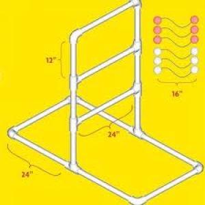 Building your own ladder golf set