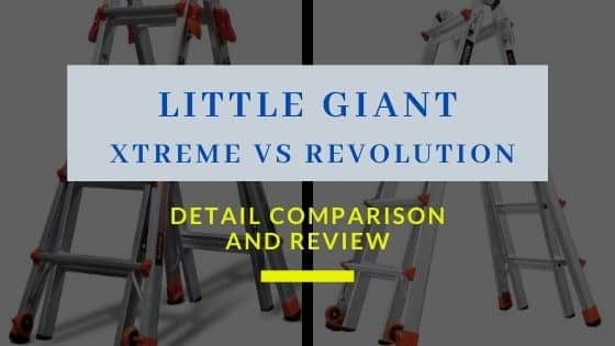 Little Giant Xtreme VS Revolution