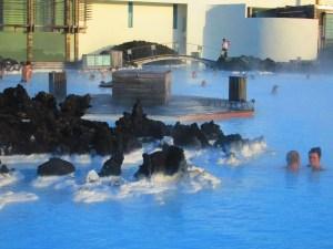 Blue Lagoon bathers