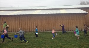 egg hunters on the run