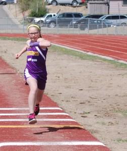 Siobhan:  long jump