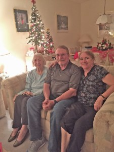 Marie, Pat and Sharon