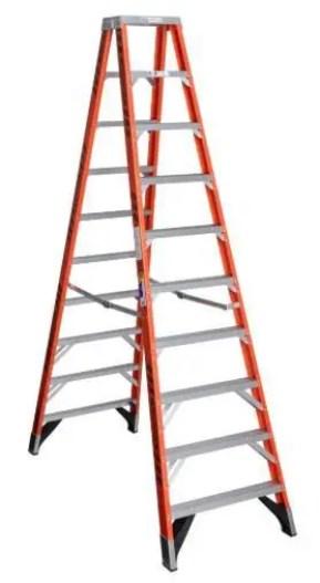 Werner 10 foot twin step ladder