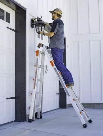 90-degree ladder structure