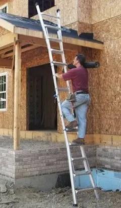 Extension ladder shape