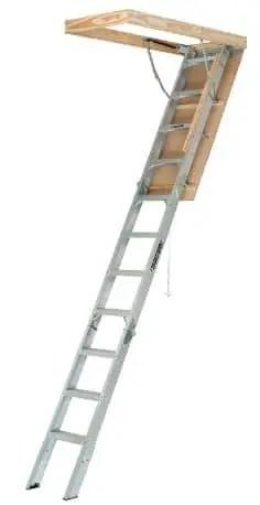 Louisville Aluminum Attic Ladder