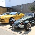さかいのお父さんとオープンカーで浜名湖一周ドライブ