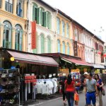 Enjoy the food and shopping in the bustling shops and colorful Chinatown