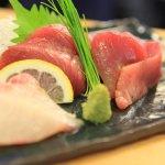 「割烹 しんはま」の日替わりランチと刺身定食の組み合わせは最高!