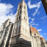 Duomo of the flowers of our Lady boasts a statue of the boar happy new market entry and Florence people