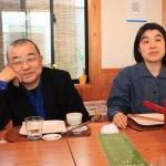 """蕎麥面""""蕎麥麵條的房子 oomori""""與演出者味岡太郎和晚餐"""
