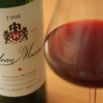Miracle of wine and said enjoy the Château musard made with seasonal vegetables and Duck House dinner