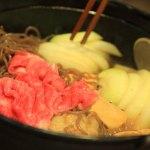 """""""時令菜餚大內""""靜岡長大了,壽喜燒鍋覺得對初秋松茸"""