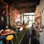 公園カフェというコンセプトを持つ「PARK/ING パーキング」で打ち合わせランチ