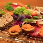 """點菜晚餐是採用無農藥蔬菜中的""""法國食堂apéroAppello"""""""