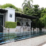"""The Siam"" with views of the river of Chao Phraya River Villa space"