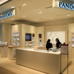 """PANDORA"" Taipei store jewelry brand that was founded in the Danish capital Copenhagen !"