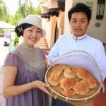 花蓮花蓮花理想地球通過皇冠廣場酒店家庭流行麵包製作類是舉行每一天 !