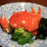 "From Hamana Lake known as ""seasonal cooking Ouchi"" phantom crab if patience and enjoy the crab!"