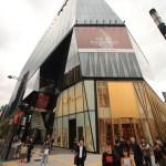 新和日本、 臺灣在銀座東急廣場的朋友聊天 !
