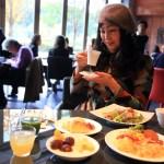「エクシブ京都 八瀬離宮」イタリアンレストランで庭を眺めながら朝食ブッフェ
