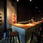 "Sticking to ""Prouve prouve"" bar is surrounded by a design and interior design"